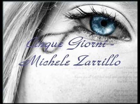 una rosa blu michele zarrillo doovi