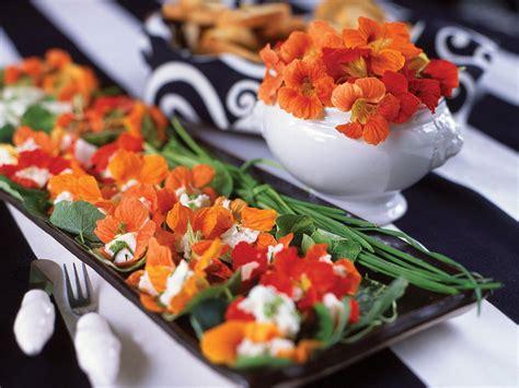 edible nasturtium salad food landscape growing indoors grow flowers edibles summer landscaping garden suffix remade