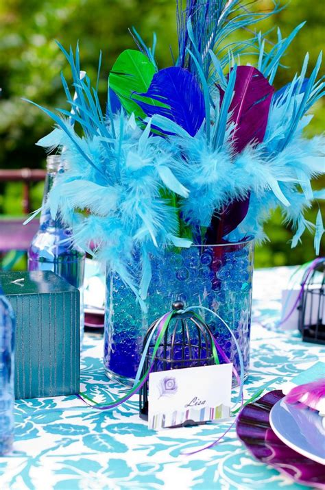 41 best images about peacock themed 60th birthday party on