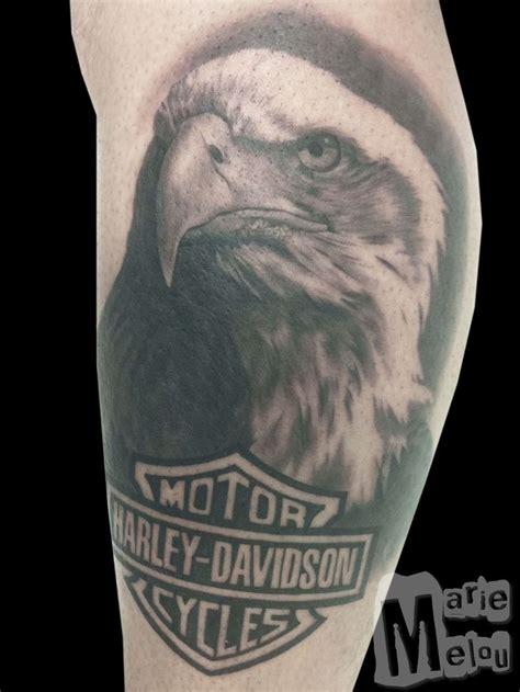 Best 25+ Harley Davidson Tattoos Ideas On Pinterest