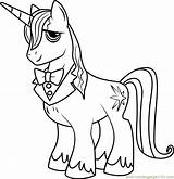 Coloring Pony Pages Prince Blueblood Horse Cartoon Shetland Mlp Colouring Friendship Magic Cartoons Printable Colors Characters Sheets Disney Coloringpages101 Scribblefun sketch template