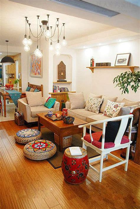 warm  cozy indian living room decor