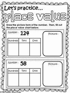 Best 14 Math  Place Value Images On Pinterest