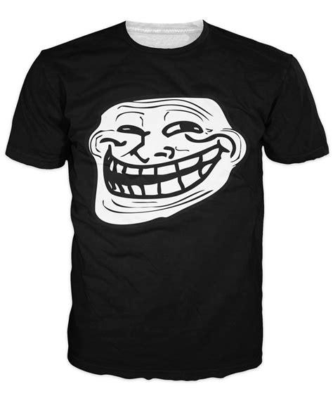 Meme T Shirts - 3d omg awesome troll face t shirt super cool meme tee casual loose fashion men s t shirts women