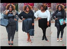 Plus Size Fashion Winter Look Book 14' Plus Bloopers