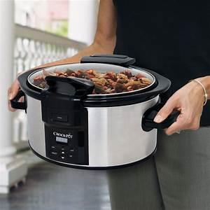 Crock-Pot® Programmable Lift & Serve Hinged Lid 6-Quart ...