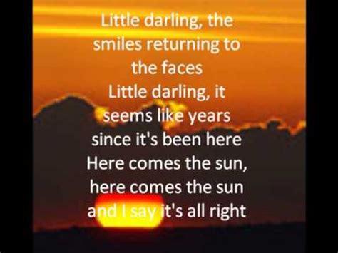 Bryan Adams  Here Comes The Sun Lyrics