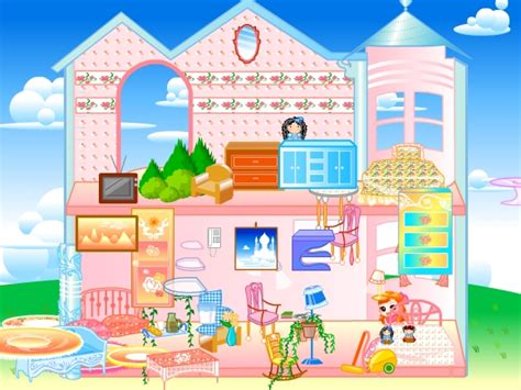 jeu de decoration de maison pour fille