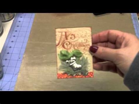 artist trading cards christmas youtube