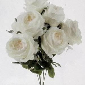 Rose Blanche Artificielle : fleurs artificielles archives fleurs et d co ~ Teatrodelosmanantiales.com Idées de Décoration