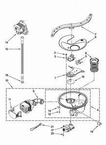 Kenmore Dishwasher Model 665 Parts Diagram  U2014 Untpikapps