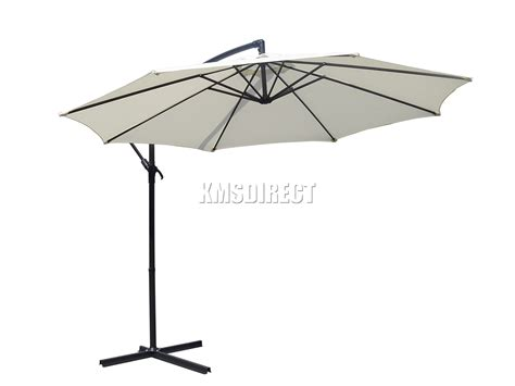 Cantilever Patio Umbrellas Uk by Foxhunter Garden Parasol Sun Shade Patio Banana Cantilever