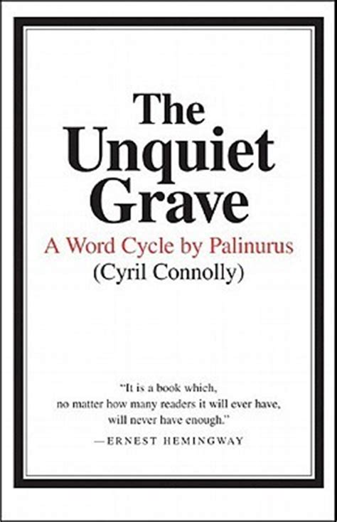 unquiet grave  word cycle  palinurus  cyril