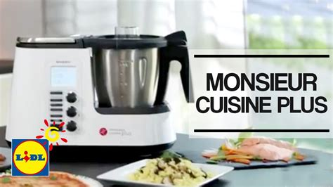 Monsieur Cuisine Plus  Lidl España Youtube