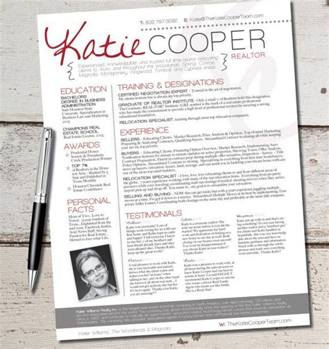 Graphic Design Resume Sles by The Real Estate Resume Template Design Graphic Design Marketing