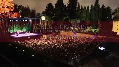 lorca  granada en los jardines del generalife  youtube