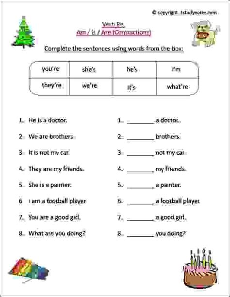english worksheets  grade  kids  learn