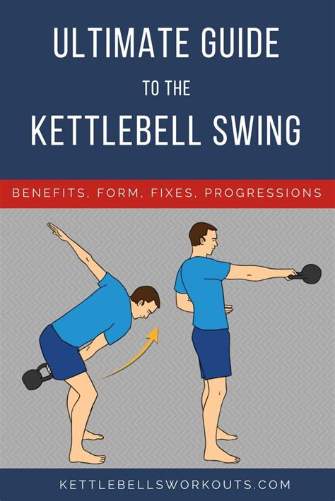 kettlebell swing ultimate guide benefits most exercise variations form points teaching progression struggle important