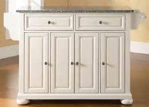crosley alexandria kitchen island buy crosley furniture butcher block top kitchen island