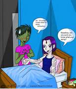 Raven And Beast Boy Pregnancy Fanfics Beast boy  Beast Boy And Raven Have A Baby