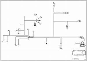 Bmw X5 Wiring Harness  Engine Grbx  Module  Trans  System
