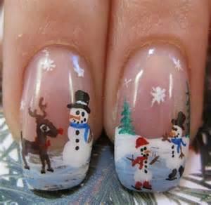 Christmas nail designs cathy