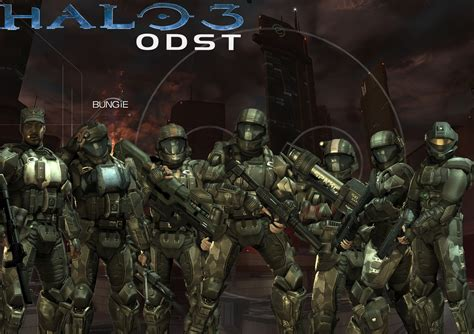 Halo 3 Odst Custom Wallpaper