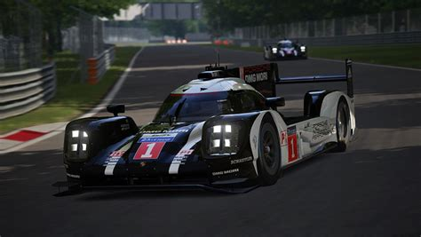 assetto corsa drive  porsche   virtual race track