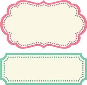 2 label shapes by Lori Whitlock Shop Pinterest