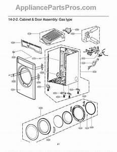 Lg 4778el3001b Adjustable Dryer Leg