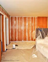 how to paint paneling How to Paint Wood Paneling - Cherished Bliss