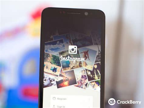 install instagram  blackberry  crackberrycom