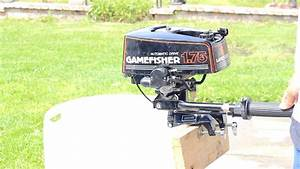 Sears Tanaka Gamefisher 1 75 Hp Outboard Boat Motor