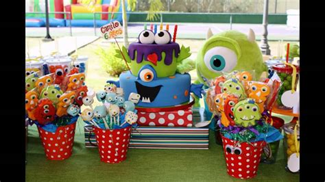 cool monster birthday party themes youtube