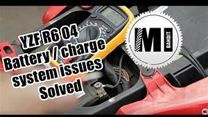 Part 1  Yamaha Yzf R6 2004 Motorcycle Battery   Charge