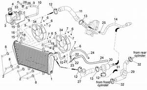 cooling system dorsoduro 1200 2010 2013 corsa meccanica With smart car cooling system