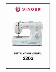 Singer 2263 Simple 23-stitch Sewing Machine