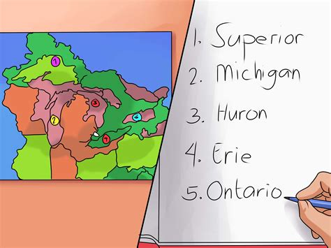 2 Simple Ways To Remember The Five Great Lakes Wikihow