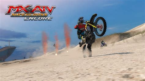 mx vs atv motocross games mx vs atv supercross encore megagames