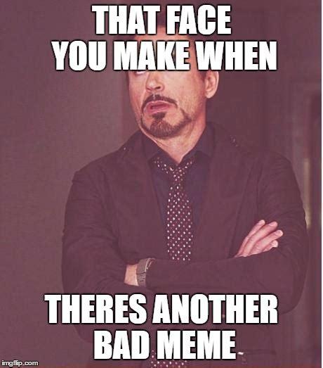 Meme Face Maker - face you make robert downey jr meme imgflip