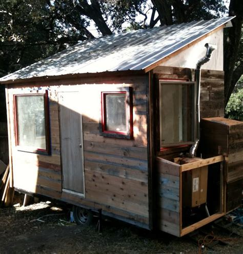 diy small house diy tiny house on a trailer for 5 500