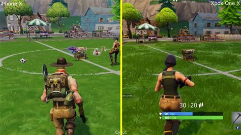fortnite mobile iphone   xbox   early graphics