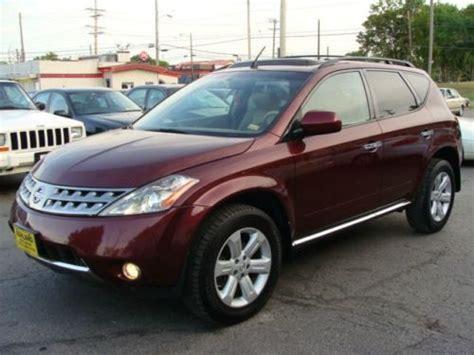 Sell Used 2007 Nissan Murano Sl Awd In Columbia, Missouri