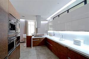 white brown kitchen large family residence in kiev ukraine With kitchen furniture ukraine