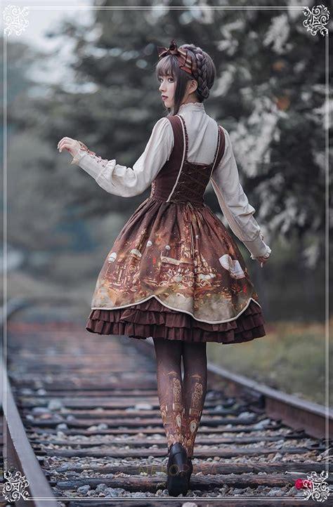 steampunk wedding dress costume lolita cosplay corset