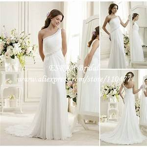 grecian beach wedding dresses wedding ideas With grecian style wedding dress