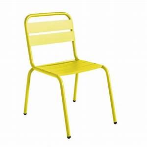Chaise De Jardin Aluminium : chaise de jardin design m tal visalia par ~ Teatrodelosmanantiales.com Idées de Décoration