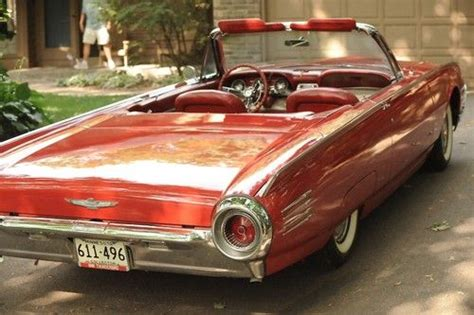 purchase   ford thunderbird convertible