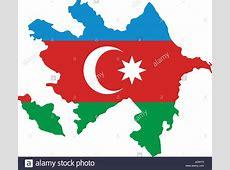 Azerbaijan Map Stock Photos & Azerbaijan Map Stock Images