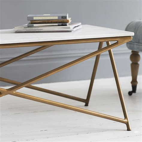All marble coffee tables can be shipped to you at home. Stellar White Marble Coffee Table   Atkin and Thyme